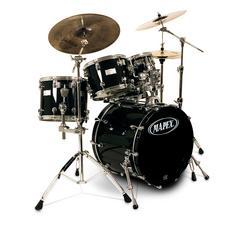Mapex Saturn Shell Set Transparent black