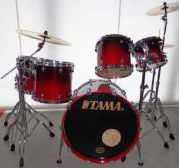 Tama Starclassic Maple Shell Set Crimson Red Fade