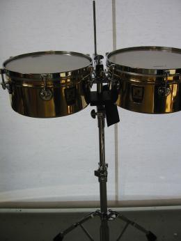 Sonor Brass Timbales