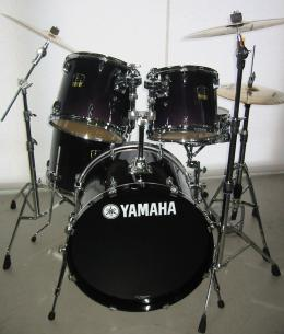 Yamaha Stage Custom Advanced, fade purple blue